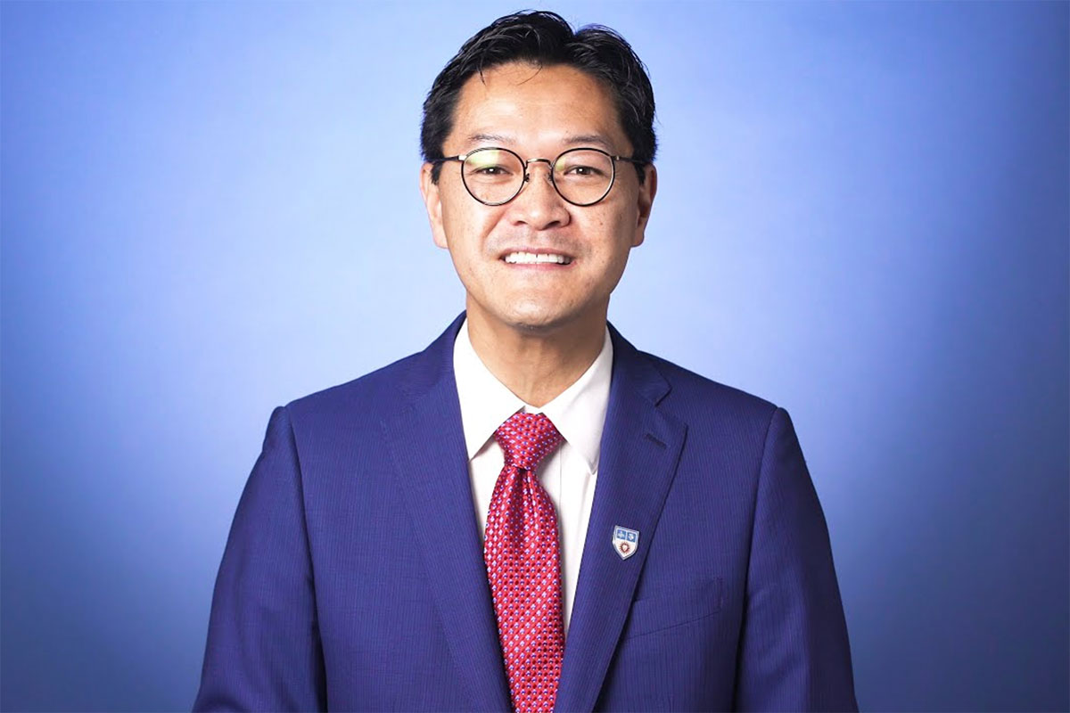 A video thumbnail of Provost Tom Poon speaking