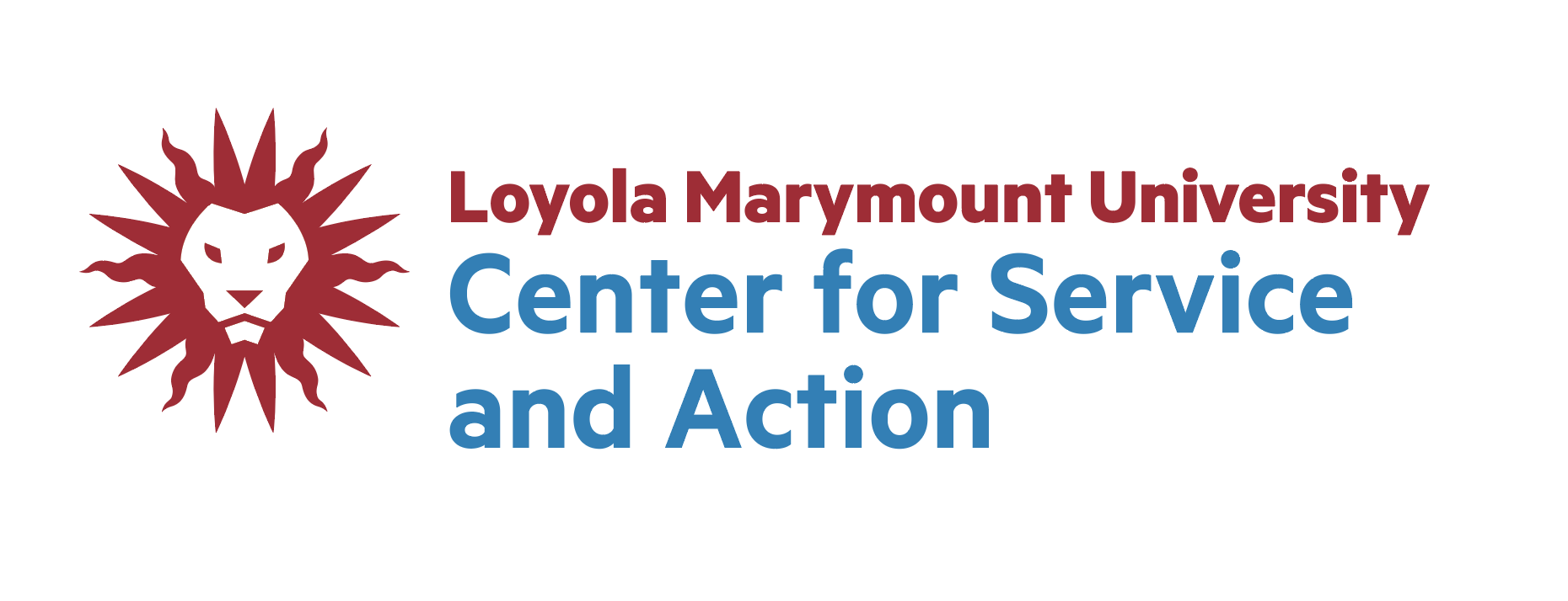 LMU Center for Service and Action logo