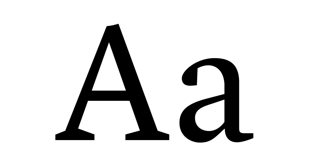 Example of Lyon typeface
