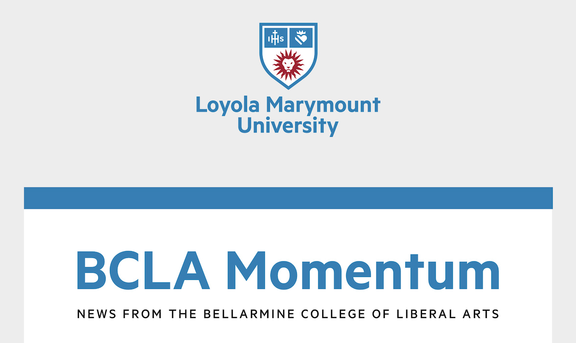 BCLA Momentum newsletter header